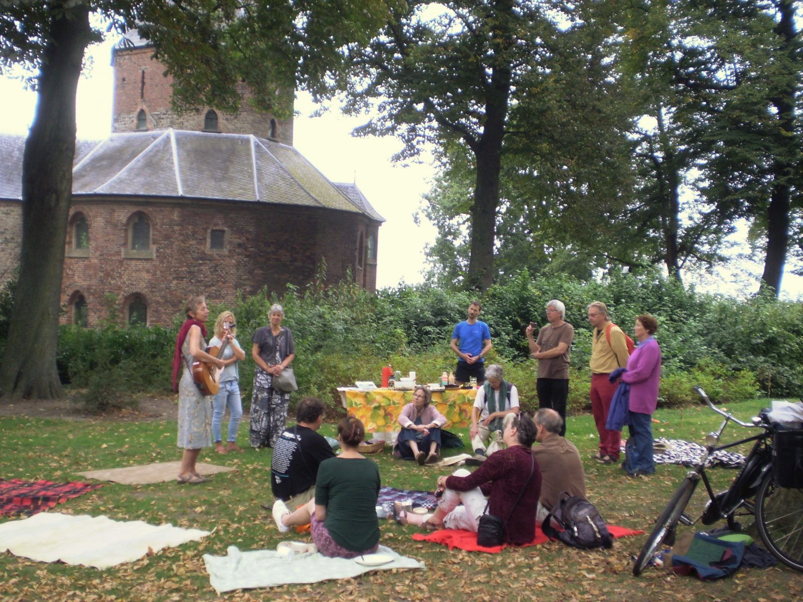 Geslaagde picknick